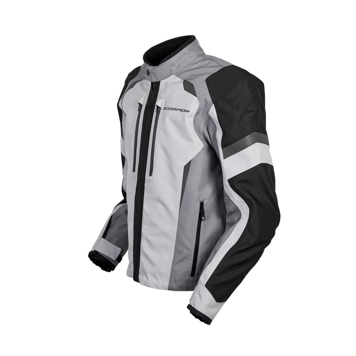 scorpion-optima-motorcycle-jacket-grey-left