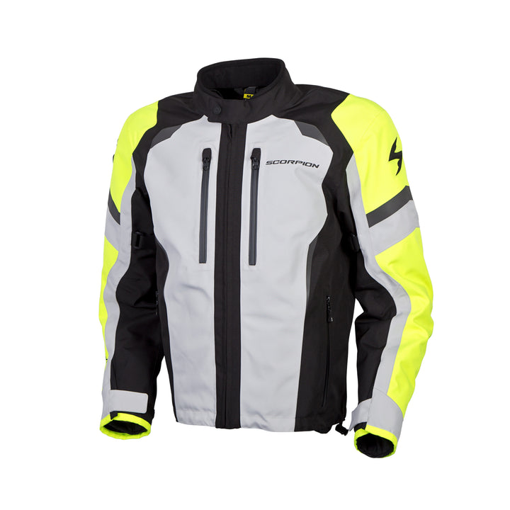 scorpion-optima-motorcycle-jacket-hivis-left