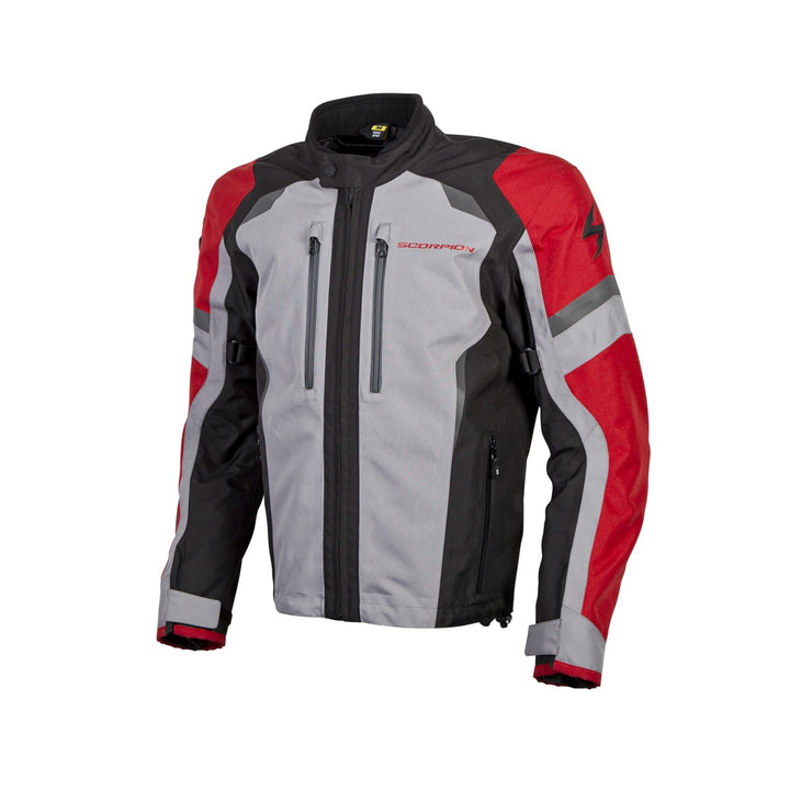 scorpion-optima-motorcycle-jacket-red-left