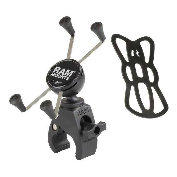 ram mounts tough claw x grip phone mount kit
