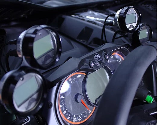 Razorback Can-Am X3 Gauge Cluster Mount