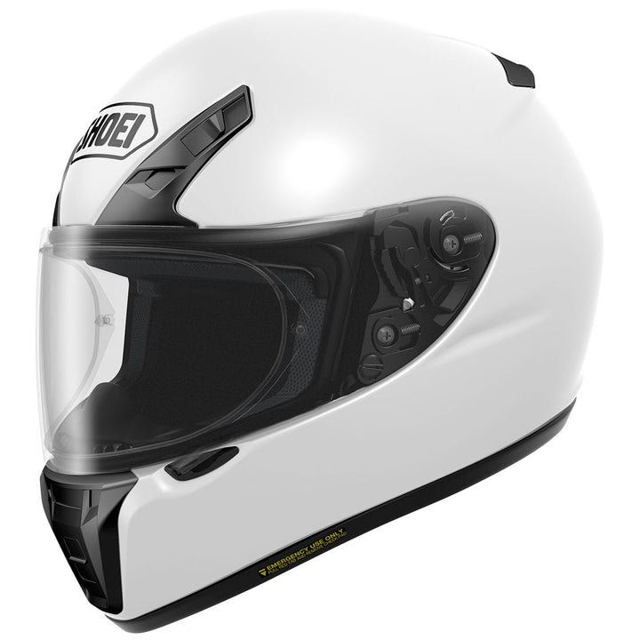 shoei-rf-sr-motorcycle-helmet-white-left