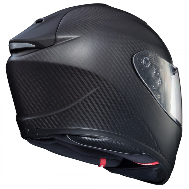 scorpion exo st1400 carbon helmet matte black back