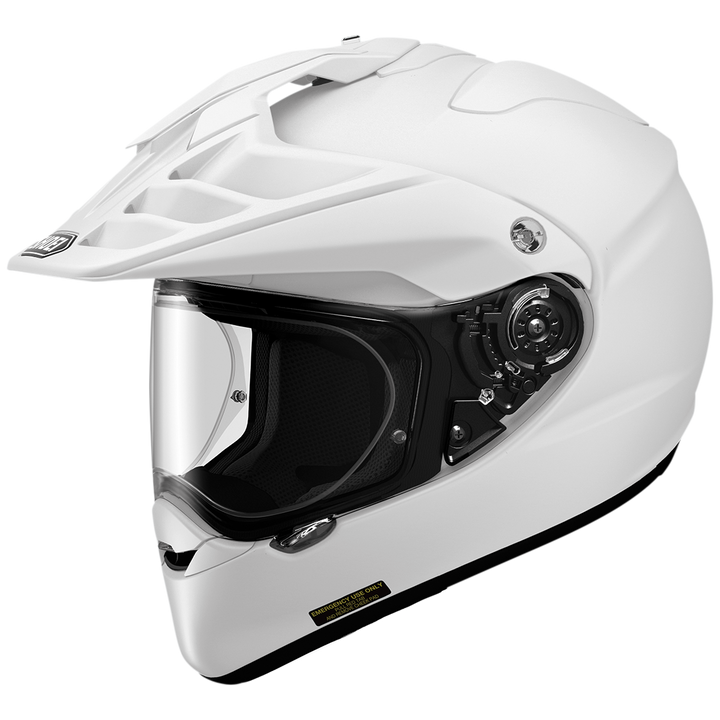 shoei hornet x2 helmet white