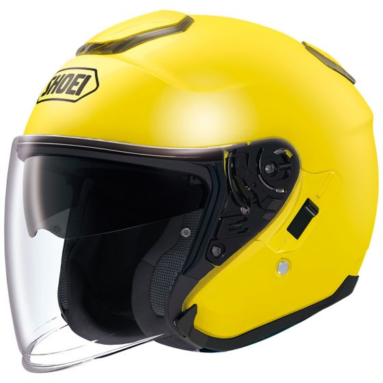 shoei j cruise helmet yellow