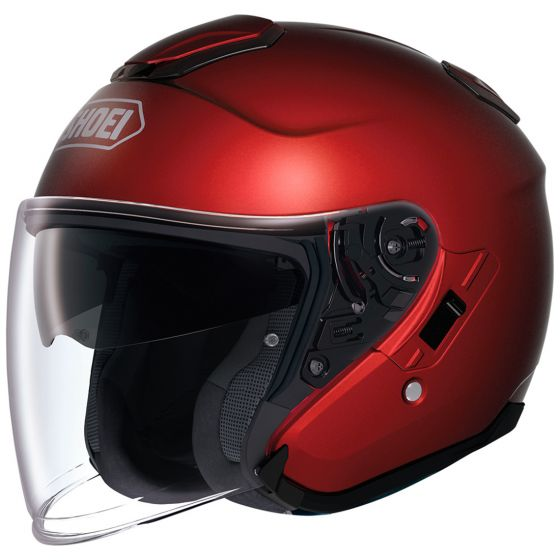 shoei j cruise helmet wine red
