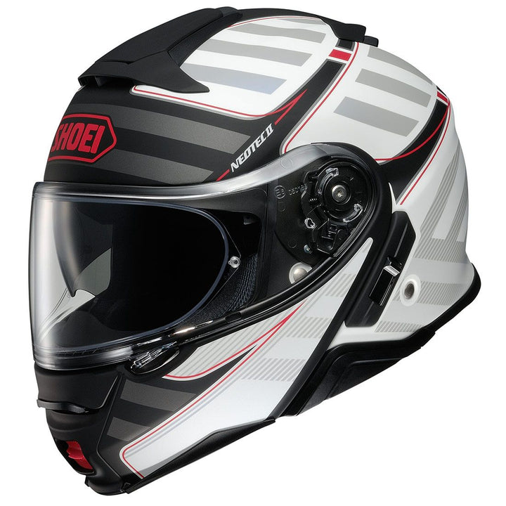shoei neotec 2 splicer helmet white