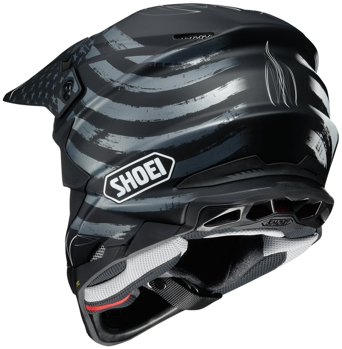 shoei vfx evo faithful helmet rear