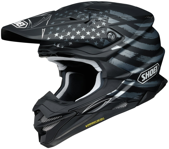 shoei vfx evo faithful helmet