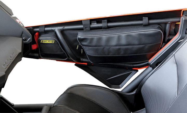 utv storage can am x3 front door bags interior