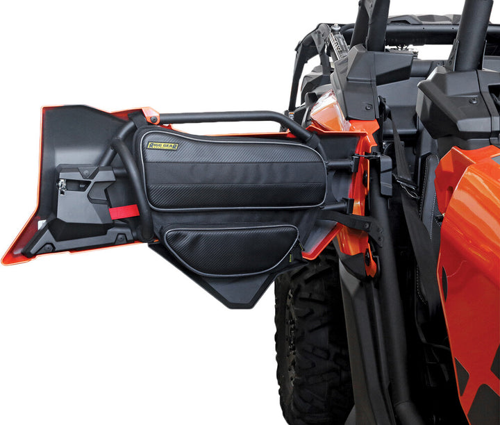 utv storage can am x3 rear door bags install
