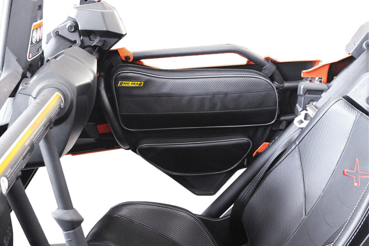 utv storage can am x3 rear door bags interior