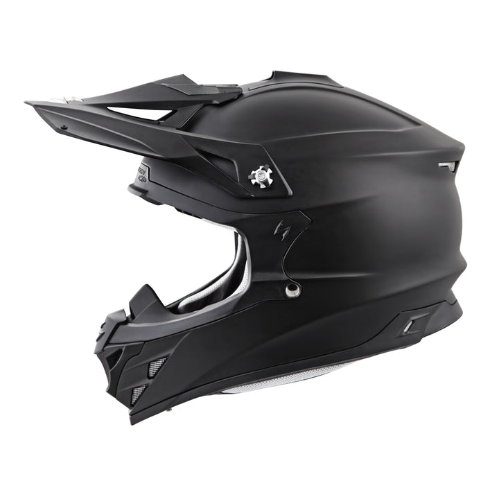 scorpion-vx-35-solid-matte-black-left