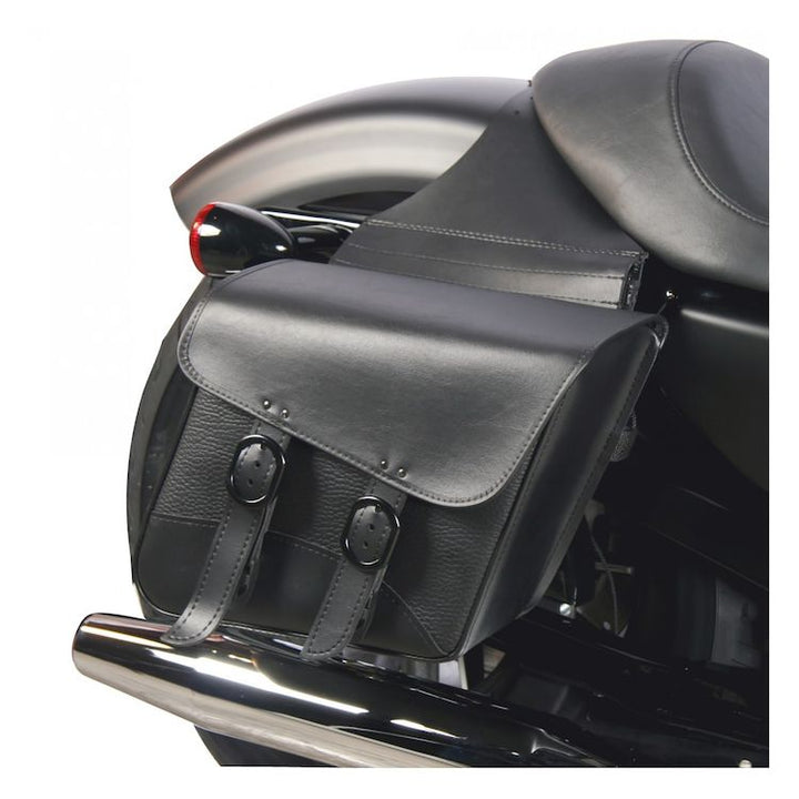willie and max black jack saddlebags