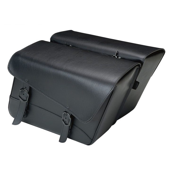 willie and max black jack saddlebags large