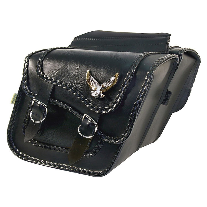 willie and max black magic saddlebags compact