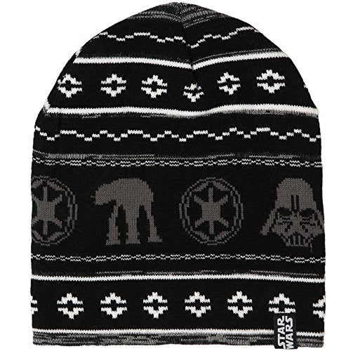 STAR WARS Holiday Knit Beanie Hat Black