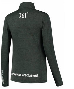 Womens 361 Half Zip Long Sleeve Running Top