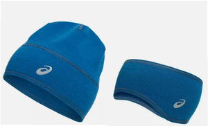ASICS DUO THERMAL BEANIE AND EAR WARMER (SET)