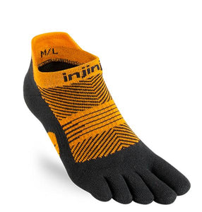 Injinji Run Lightweight No-Show Running Sock - Womens