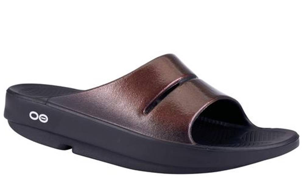 Women's OOFOS OOahh Luxe Cabernet