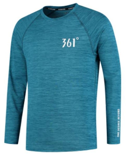361 Men's Quik Solid Longsleeve Running Top