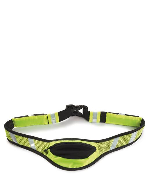Ultimate Performance White Scar High Visibility Running Belt