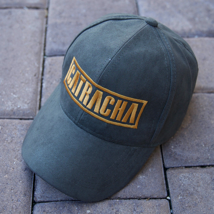 Catracha Dad Hat | Gamuza
