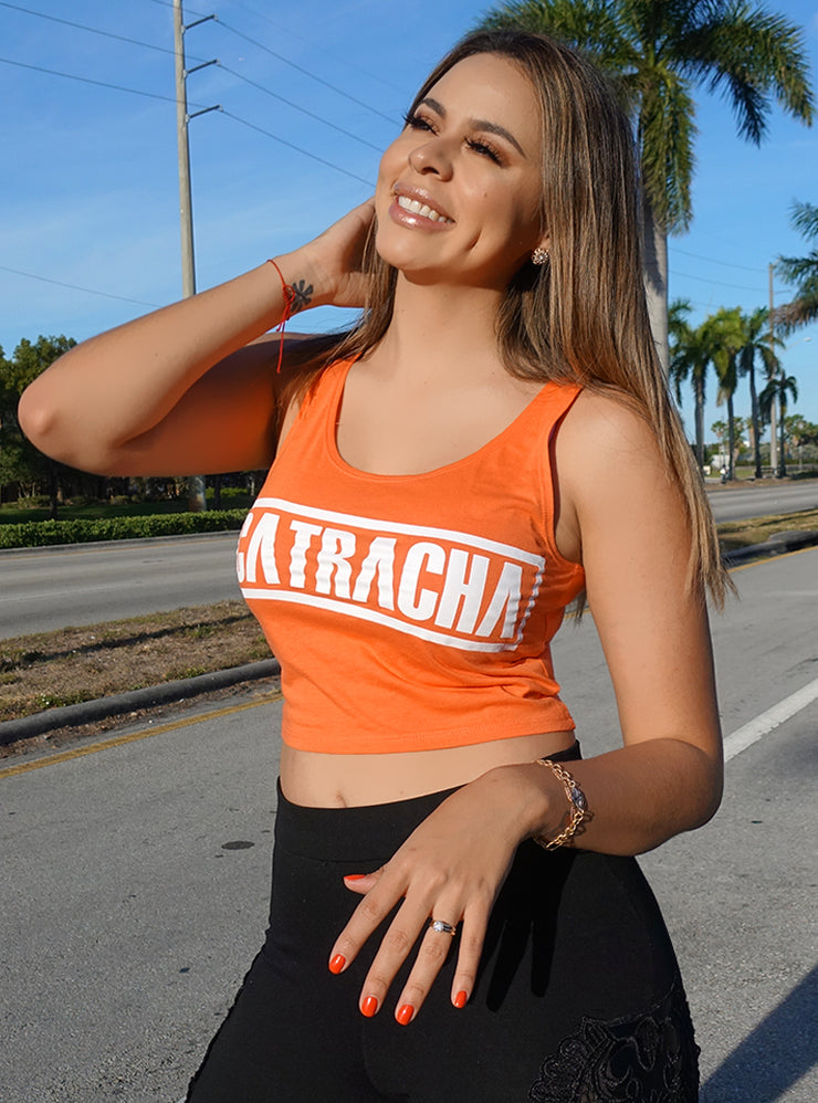 Catracha Crop Top (Sin Mangas) by Lipstickfables