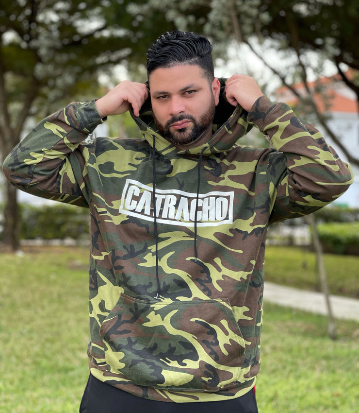 Catracho Camo Hoodie by Lipstickfables