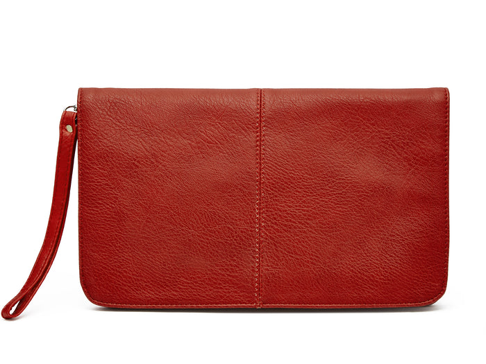flap clutch-red