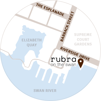 Rubra on the swan location