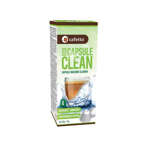Cafetto Eco Capsule Clean 6pk - Rubra Coffee