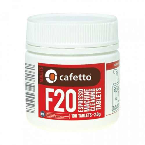 Cafetto F20 Cleaning Tablets 100 - Rubra Coffee
