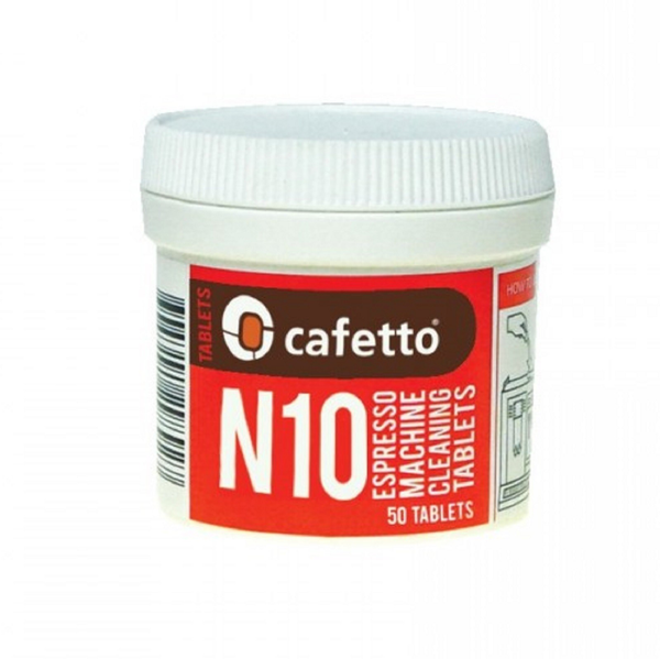 Cafetto N10 Cleaning Tablets 1g 50 - Rubra Coffee