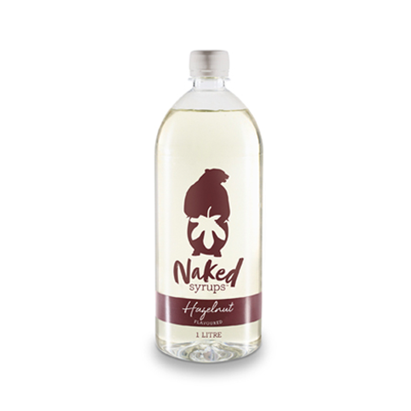 Naked Syrups Hazelnut 1Ltr - Rubra Coffee