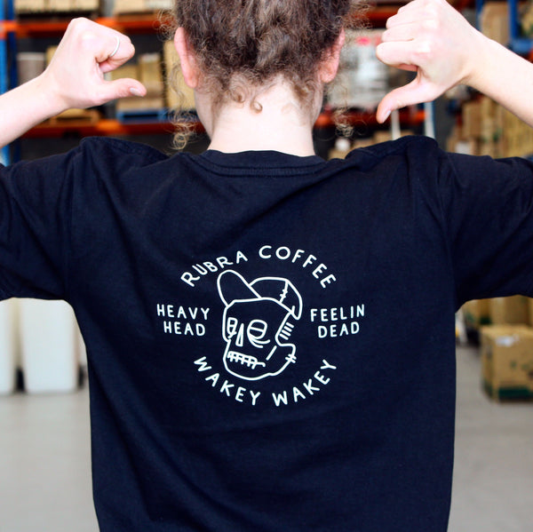 Wakey Wakey T-Shirt - Rubra Coffee