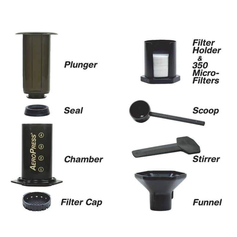 Aeropress Spare Parts - Rubra Coffee