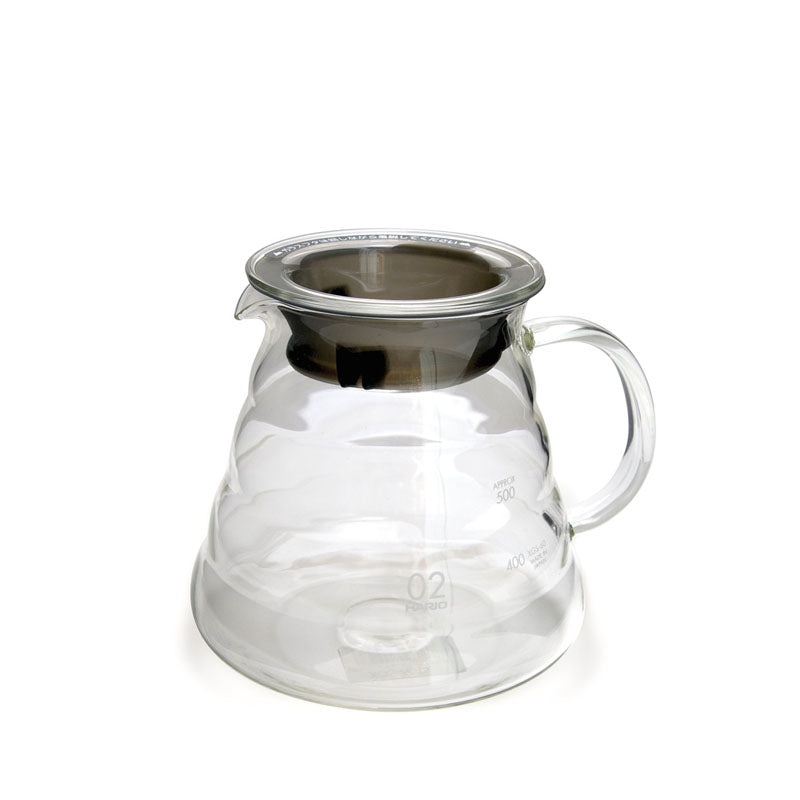 Hario V60 Glass Server - Rubra Coffee