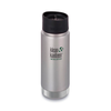 Klean Kanteen Insulated Wide - Brushed Aluminium - Rubra Coffee
