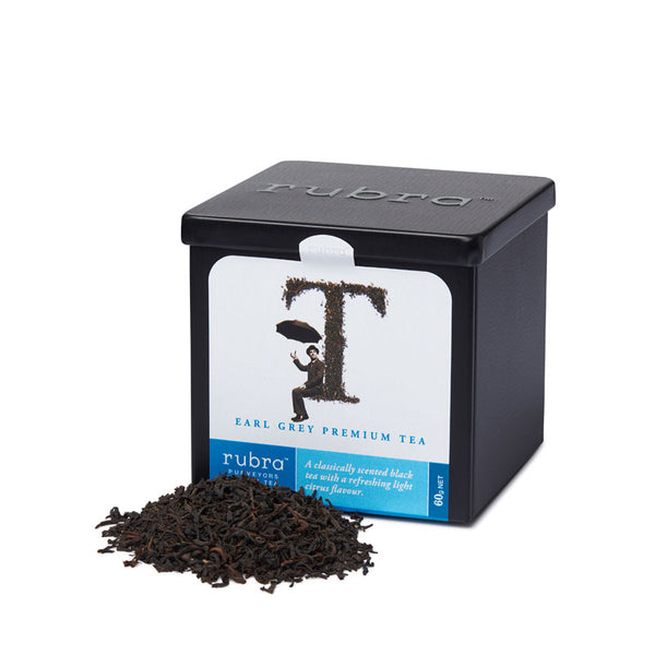 Earl Grey Loose Leaf Tin 60g - Rubra Coffee