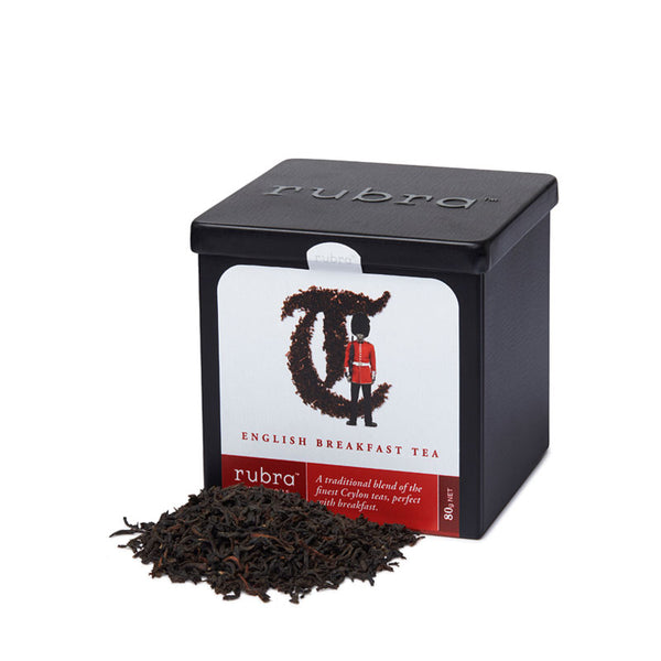 English Breakfast Loose Leaf 80g Tin - Rubra Coffee
