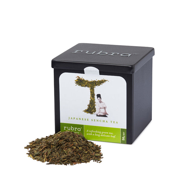 Japanese Sencha Loose Leaf 50g Tin - Rubra Coffee