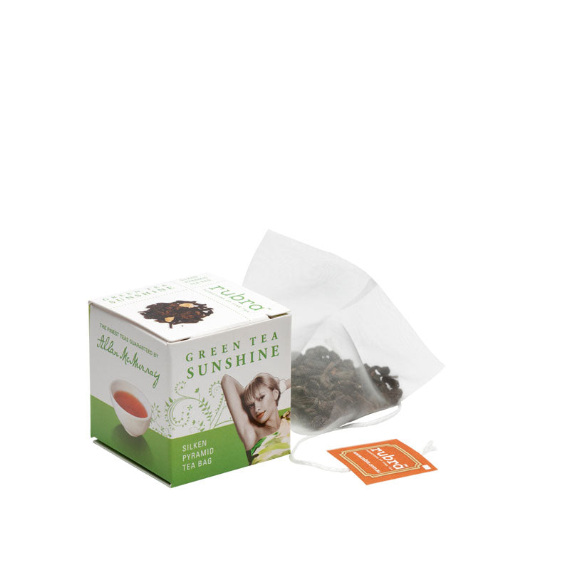 Green Tea Sunshine Tea Cube Pack - Rubra Coffee