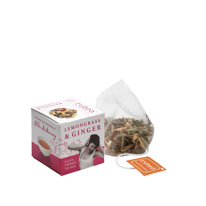 Lemongrass and Ginger Tea Cube Pack - Rubra Coffee