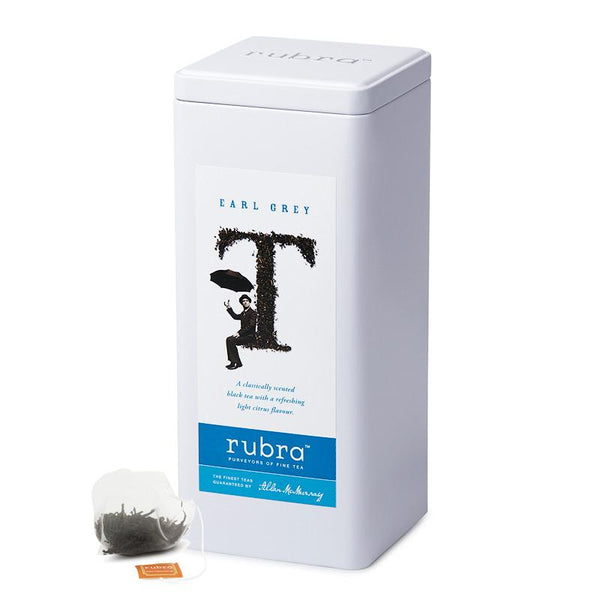 Earl Grey 50 Silken Pyramid Teabags - Rubra Coffee