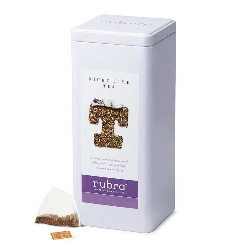Night Time 50 Silken Pyramid Teabags - Rubra Coffee