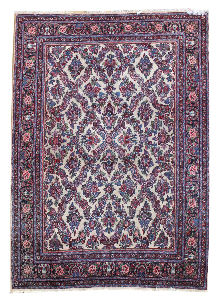 KAZVIN HANDKNOTTED RUG, 33396