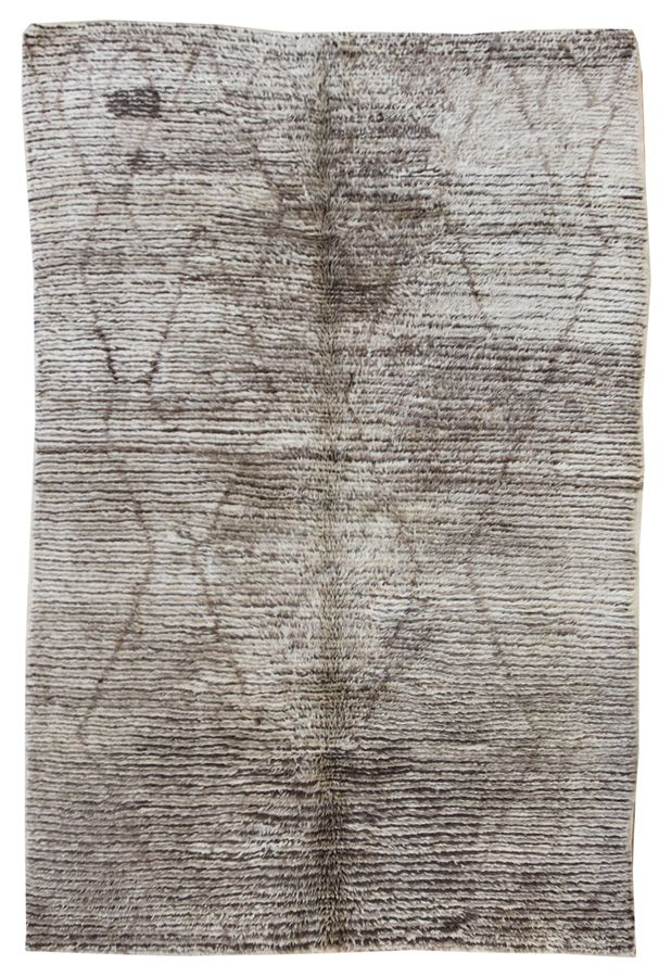GABBEH HANDKNOTTED RUG, 48605