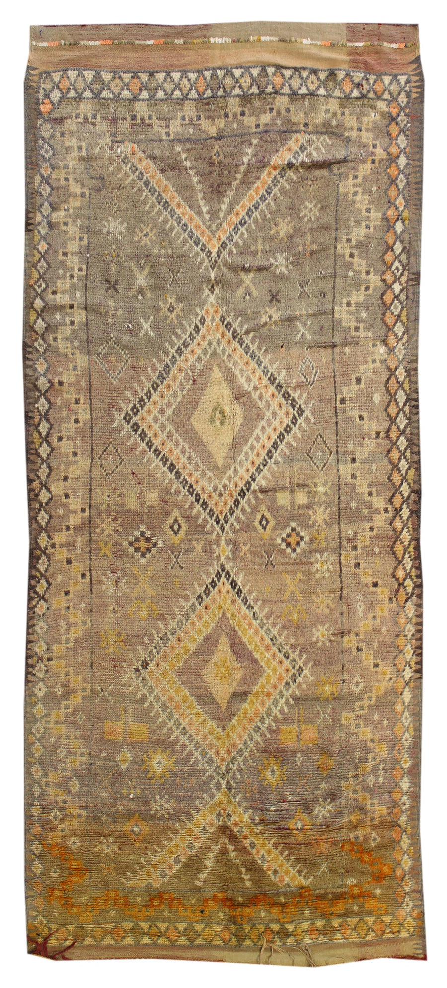 MOROCCAN HANDKNOTTED RUG, 61918